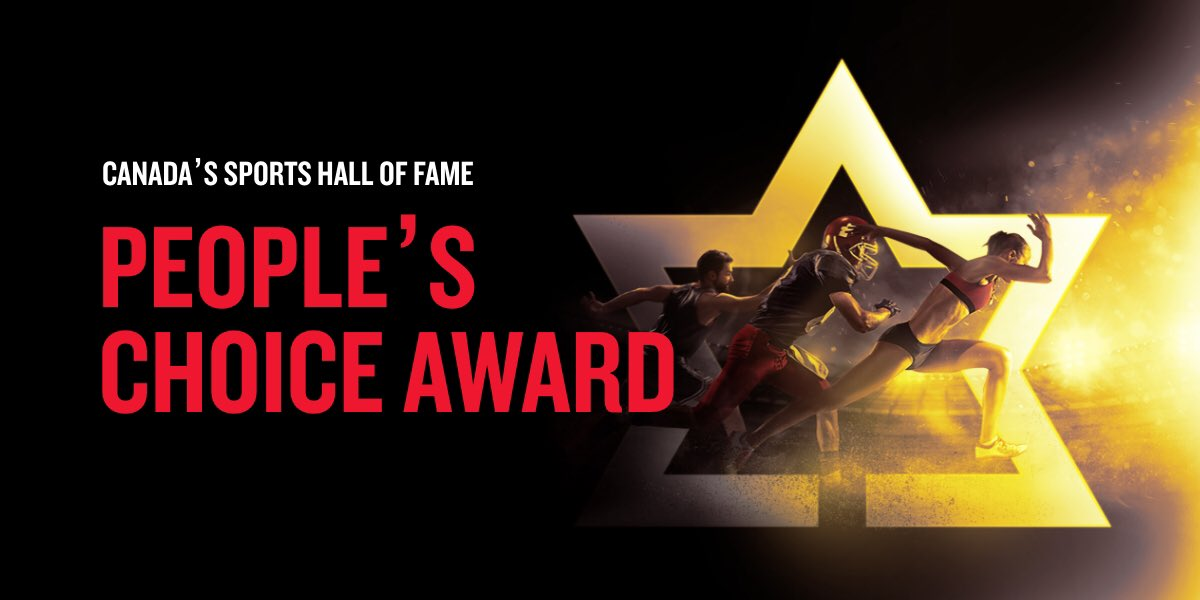 The #SportshallPeoplesChoice poll is now open! Vote for your chance to win a trip to the 64th Induction Festival in Toronto! Recognizing current athletes who are champions of their sport & champions for their community! Head to PeoplesChoice.Sportshall.ca to vote!