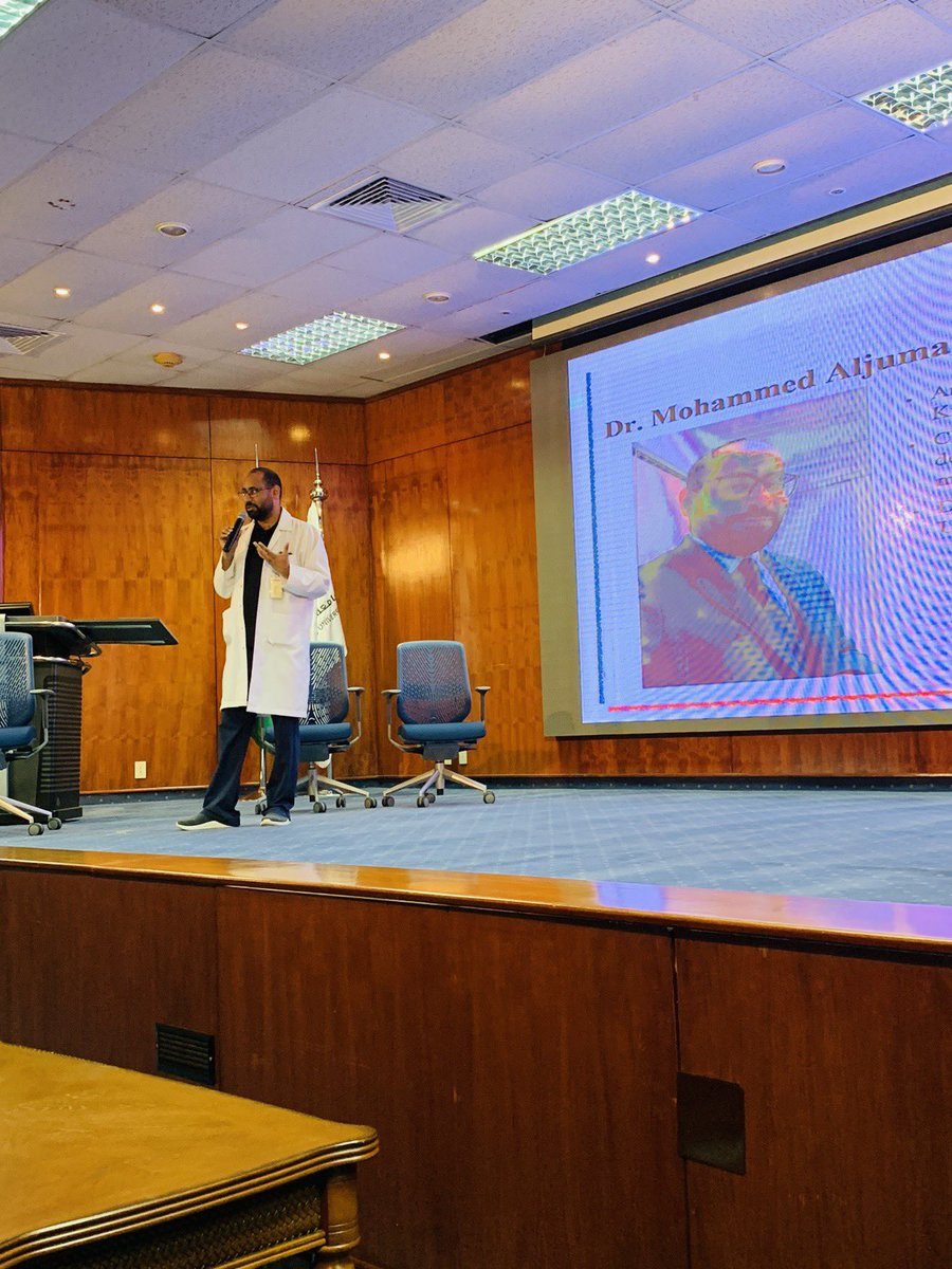 Dr Mohammed Aljumaan  ER / Toxicology consultant Giving a talk on Toxicologist role in medical practice  @Em_today_sa   #EM_TODAY2019 <br>http://pic.twitter.com/12hYBFwX6w