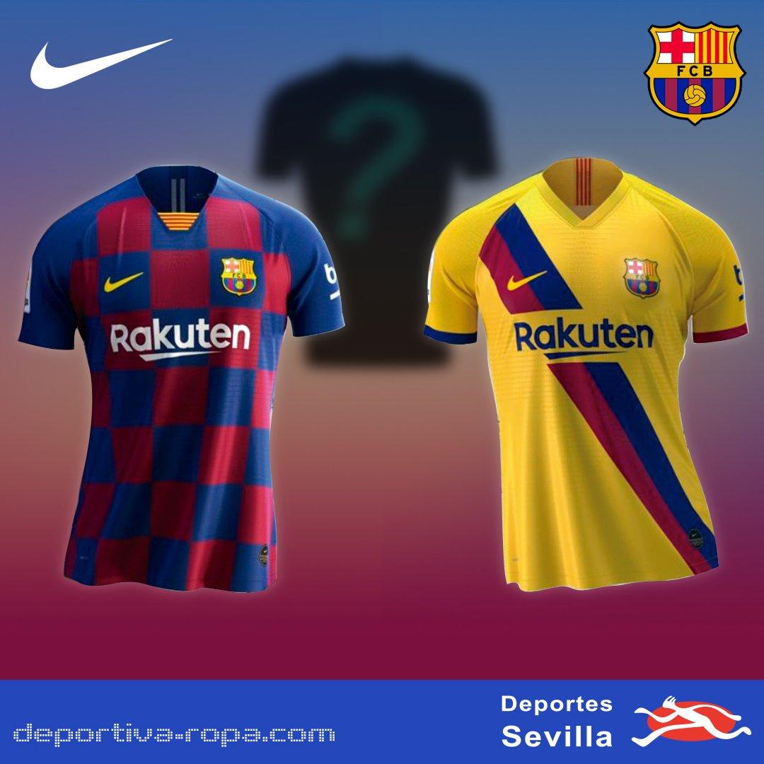 1º y 2º Camiseta Oficial Fútbol Club Barcelona 20192020