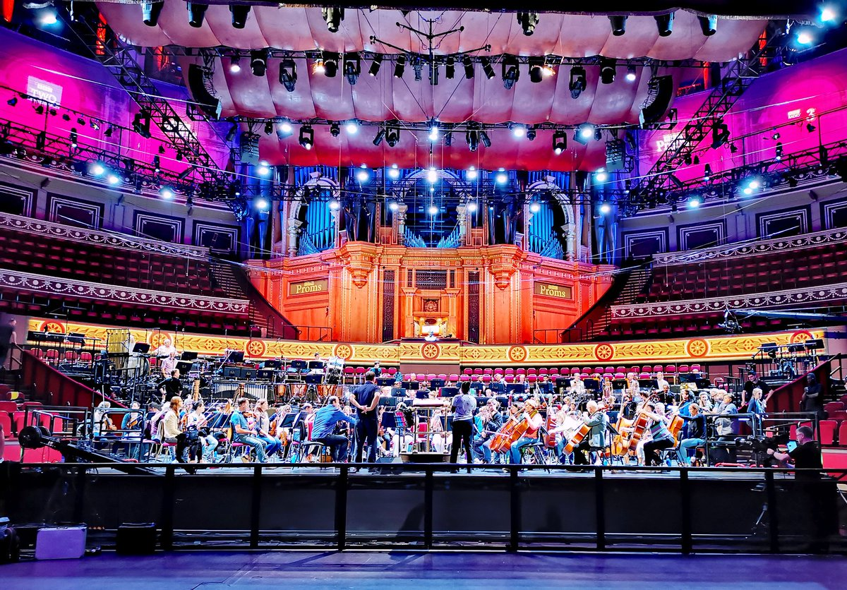 Did you see @dan_kidane's piece 'Woke' open the #LNOP? Join us this Thursday 19th to hear from the composer himself! Full info & tickets >> https://t.co/XolrsGu8Xg #BBCProms