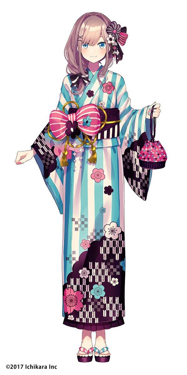 【告知】遅くなってしまいましたが、にじさんじ所属のVTuber「鈴原るる(@lulu_suzuhara)」の新衣装を描かせて頂いてます🎨浴衣です!よろしくお願いします!