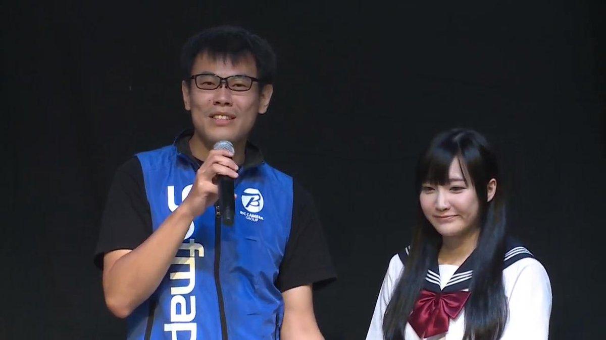 左の社長が日本でアズレンのローカライズを担当している会社の社長右の社長が中国でアズレンを作ってる会社の社長#アズレン2周年