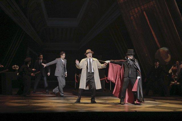 【公演レポート】中川晃教・加藤和樹・大原櫻子らが共演、ミュージカル「怪人と探偵」開幕 https:/