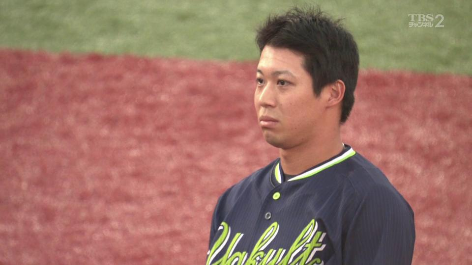 ⚾️DeNA×ヤクルト 25回戦 横浜スタジアム伊藤光 山田哲人の盗塁を阻止‼️(2019.9.14) #baystars