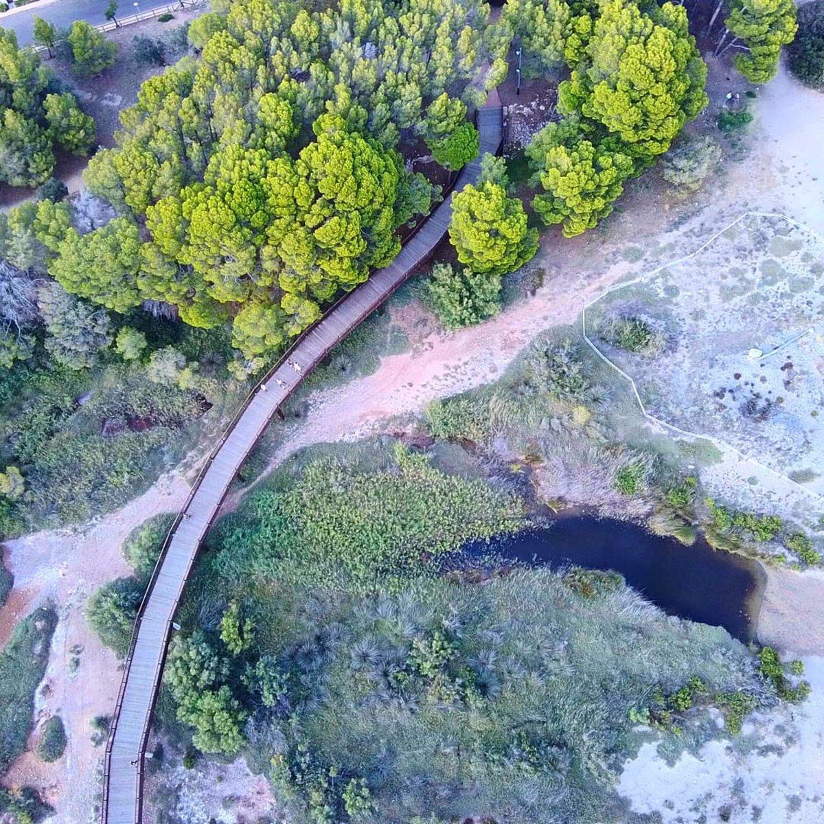 Des de l'aire tot es veu diferent... sabeu quin lloc és aquest? Ens ajudeu a descobrir-lo? Foto: @fotos_dron.vyh #hospitaletdelinfant #lhospitaletdelinfant #costadaurada #catalunyaexperience #marimuntanya #natura