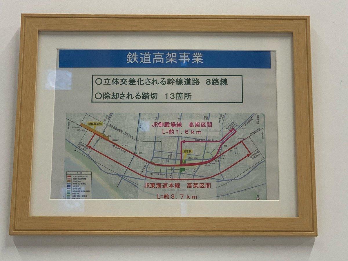 キラメッセぬまづ(3)鉄道高架事業