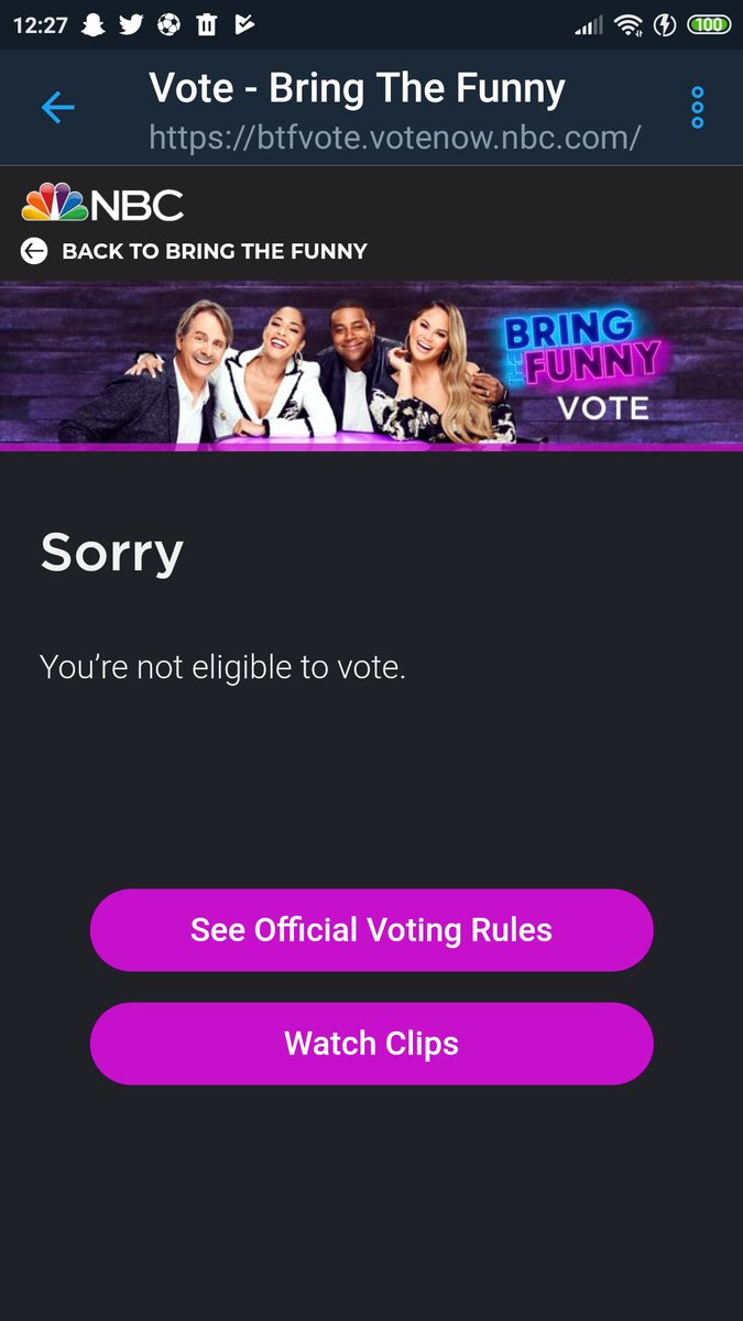 @supershayne looks like I can't vote because I'm from Portugal and on the site says that I can't so I'll just share the hashtag #FunnyVoteValleyFolk