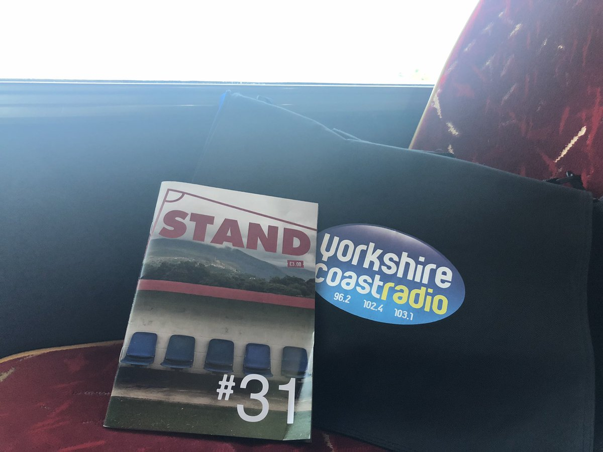 It's been a while since I commentated a @safc match.... But I'm back on today LIVE from @TheDabbers just on way over reading new issue of @STANDfanzine #31 #SAFCLive