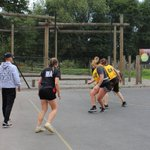 Image for the Tweet beginning: Condover Hall's very own netball