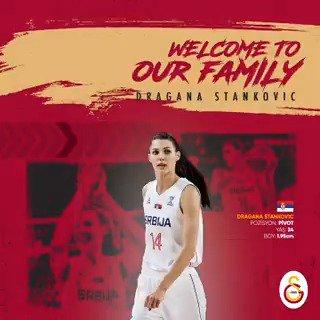 Galatasaray'a hoş geldin, Dragana Stankovic! 🙌#SarayınSultanları 👑🔗http://bit.ly/WelcomeDragana