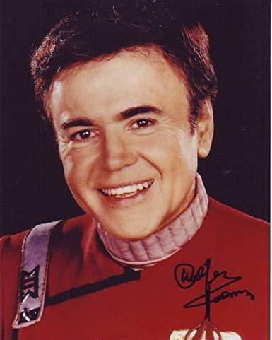 Happy birthday to Walter Koenig (Pavel Chekov in Star Trek).