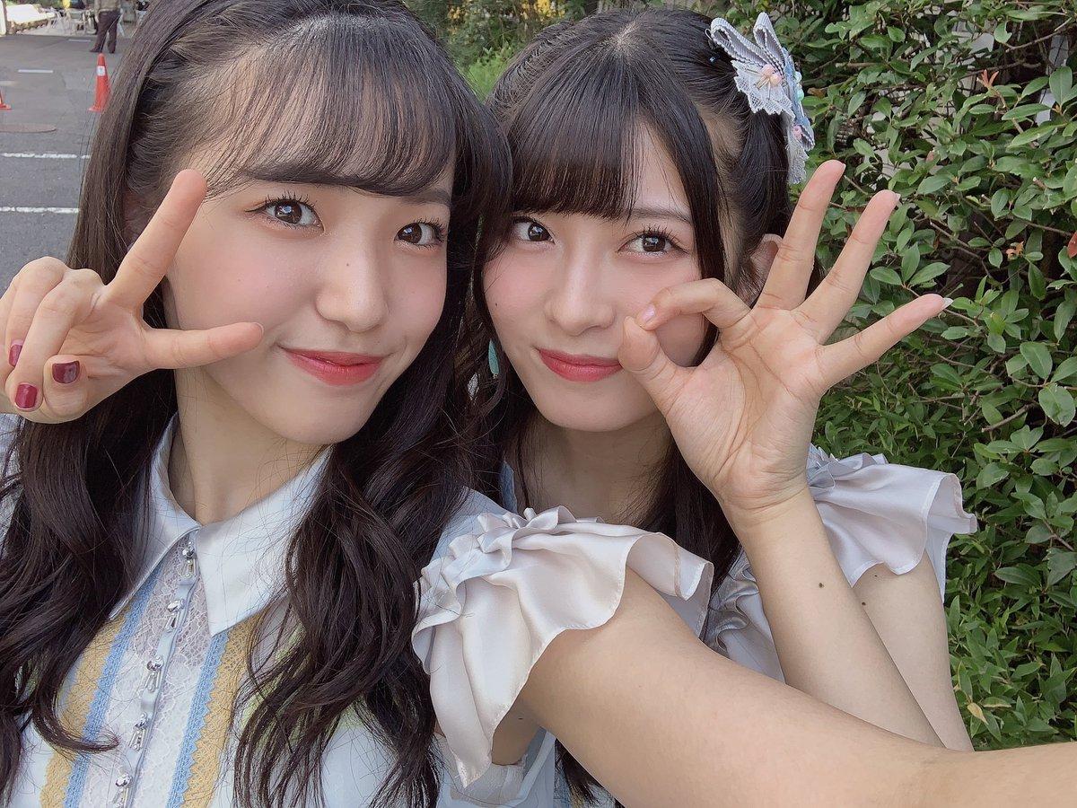 STU48とAKB48の合同握手会in大阪ありがとうございました😊舞Qとてんてんと3人でユニットをしたんですが、なんと舞Qと仲良くなれた〜🤝これから、STU48の推しは舞Q❤️そして!また大阪に来れますように🎵#AKB48#下尾みう#miushitao#パワーもらった#みうDらぶ