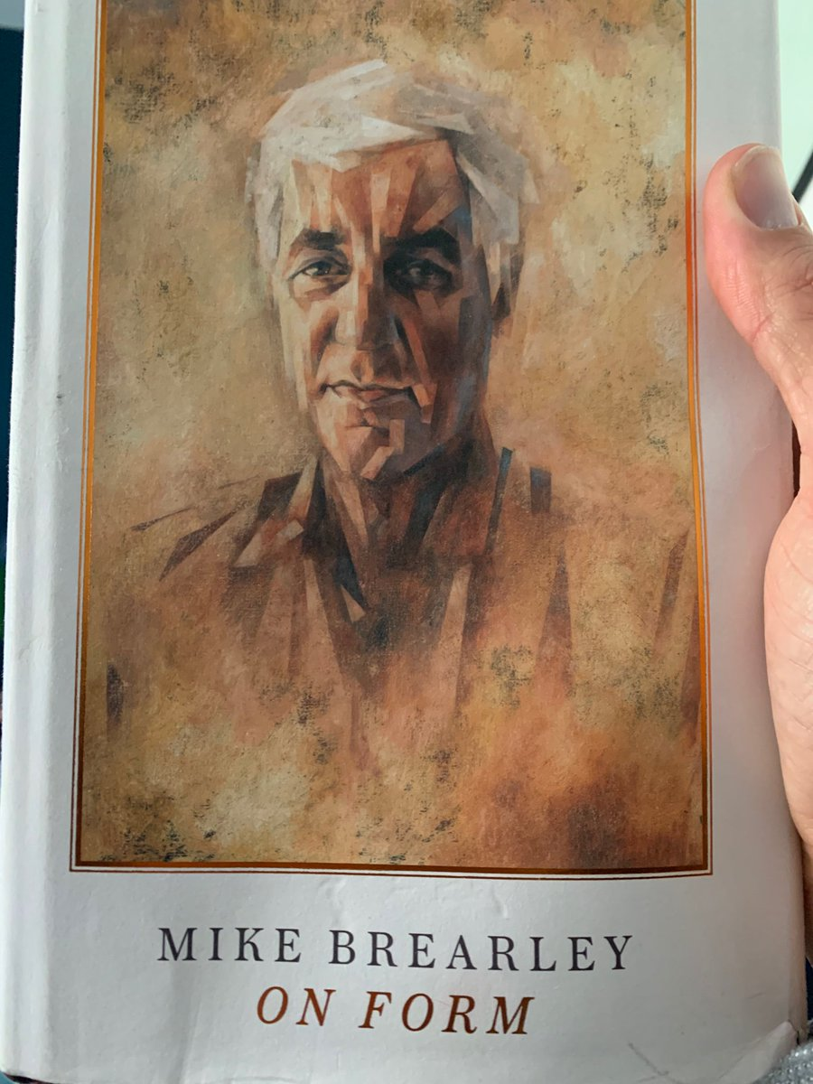 Anyone out there read this? I loved it. #cricket #sport #mikebrearley