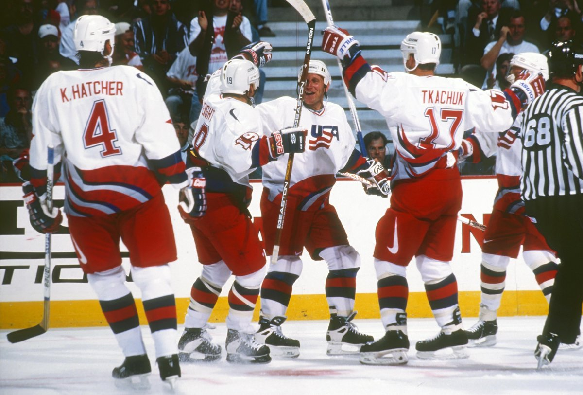 On this day in 1996, #TeamUSA won the inaugural World Cup of Hockey. 🇺🇸 Read the original game recap → bit.ly/2m9ysgi