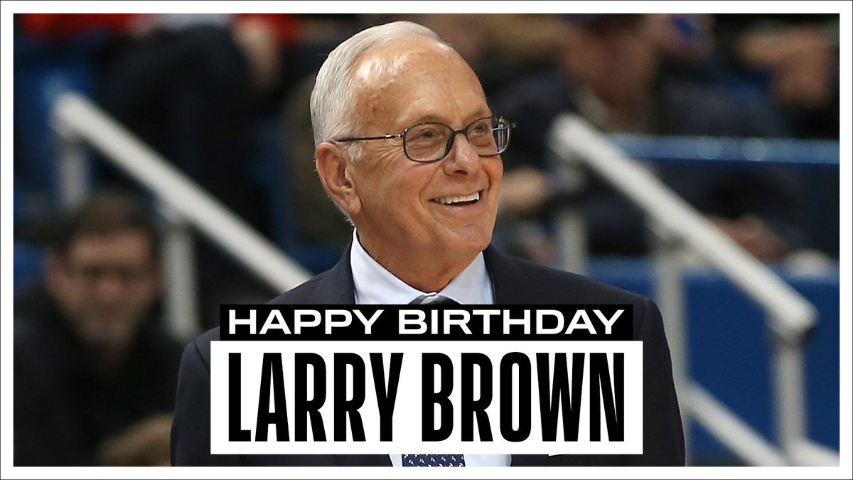 Join us in wishing a Happy 79th Birthday to 3x ABA Coach of the Year,  2001 NBA Coach of the Year & 2004 NBA Champion, Hall of Fame Coach Larry Brown! #NBABDAY