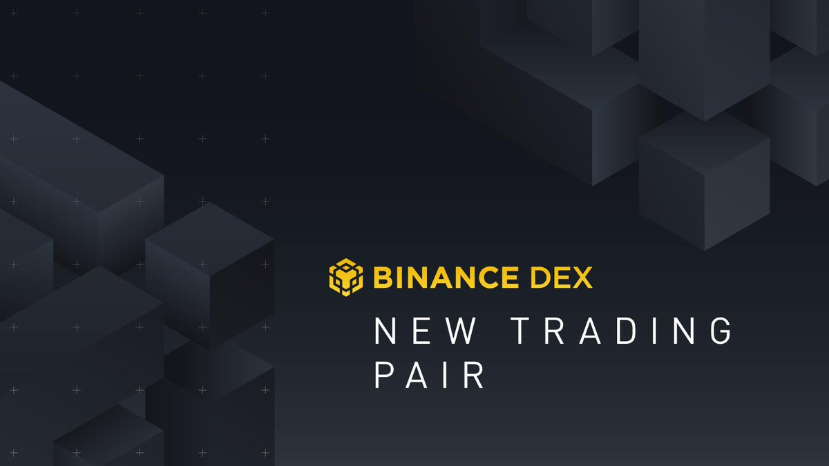 Congrats to @RupiahTokenIDRT ( $IDRTB) for being the first non-USD stablecoin to be listed on @Binance_DEX!