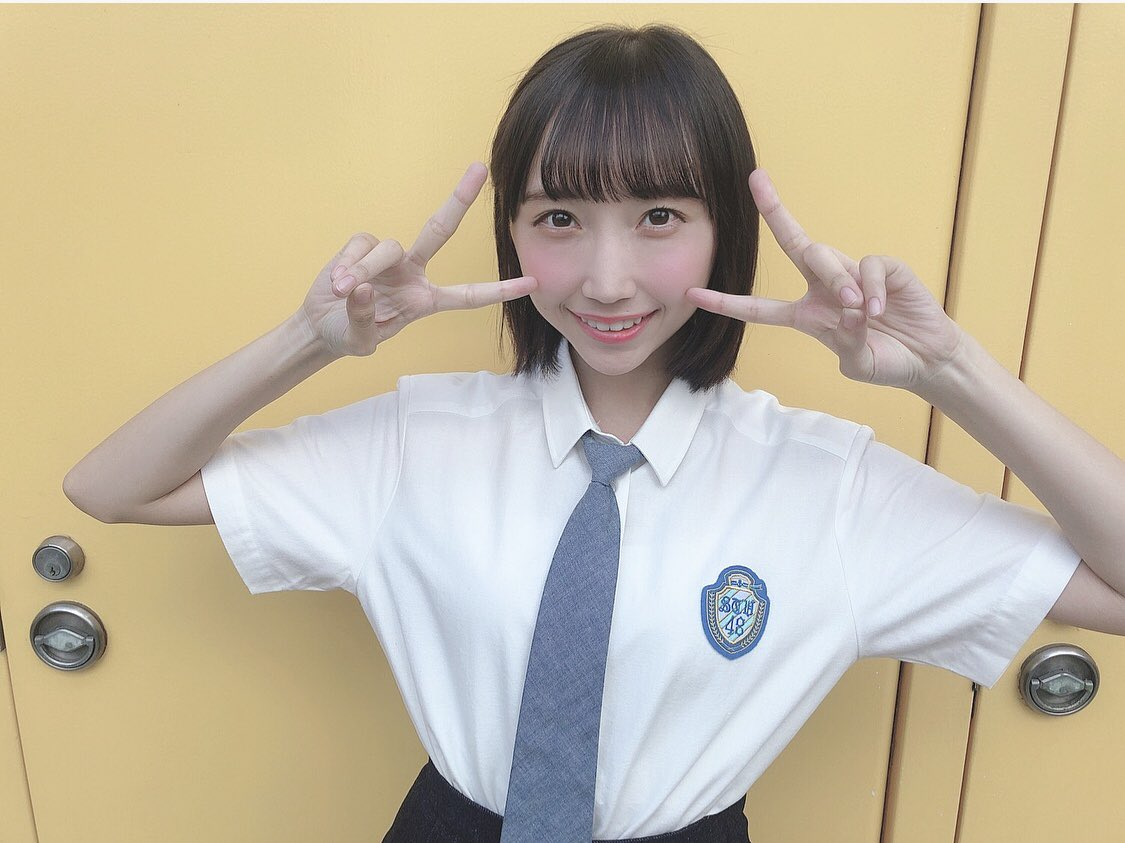 AKB48さんとの合同全握ありがとうございました😊久しぶりに皆さんに会うということでとてつもなく緊張したんですけど、すごい楽しかったです!会いに来てくださり、ありがとうございます🥰#石田千穂 んぬ#岡田奈々 さん
