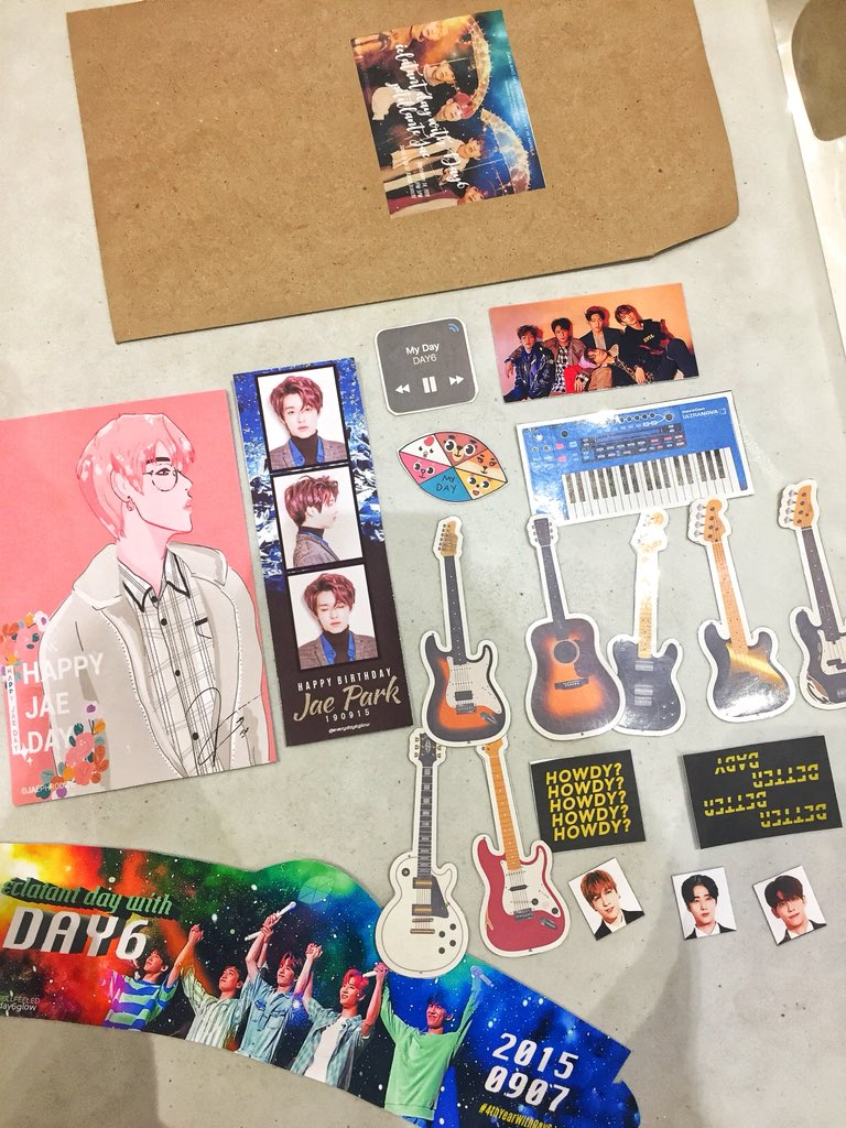 Hello! We're here at Book & Borders to celebrate #BetterDaysWithJae #Greatest_Of_All_Time_Jae and we have a few cupsleeves & freebies left!!!   Just approach us when you see these freebies & don't forget to vote to our Bias Board!!!<br>http://pic.twitter.com/EpP2SCHTRo