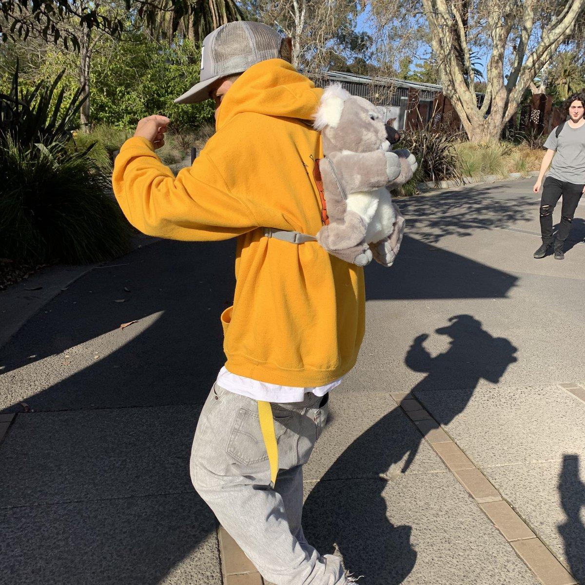 オーストラリアまで来てゲトったのはコアラのバッグでした。