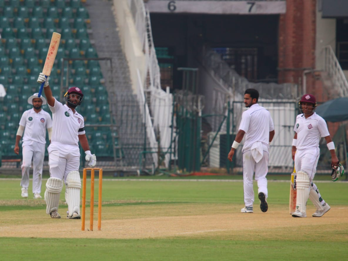 Sami Aslam stars with 151* for Southern Punjab on Day 1 of the 1st Round of Quaid-e-Azam Trophy 2019/20