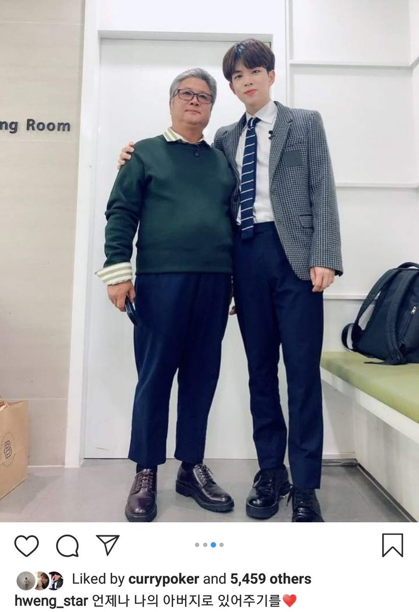 190914 Translation of Hweseung IG update on his Immortal Songs stage with his dad   #NFlying #엔플라잉<br>http://pic.twitter.com/i6EzaceLxA