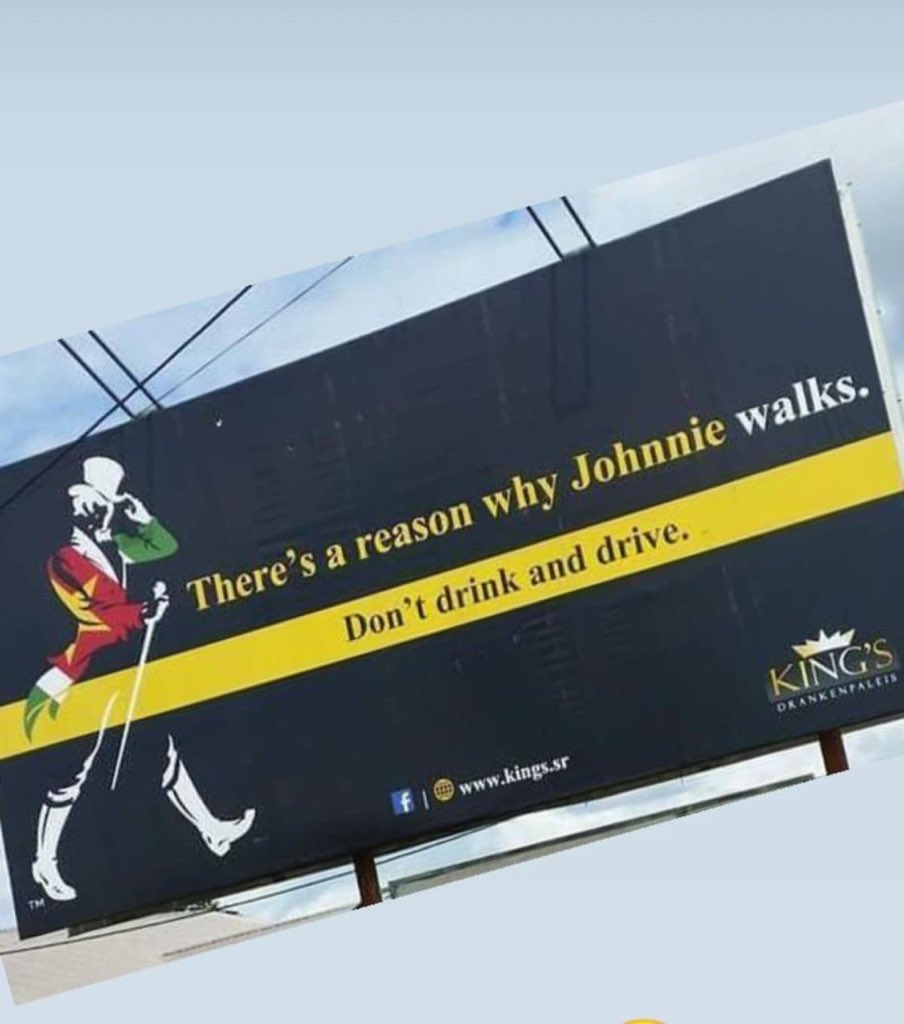 @johnniewalker_  What an innovative advertising #keepwalking #drivesafe<br>http://pic.twitter.com/5pIj87wIHl