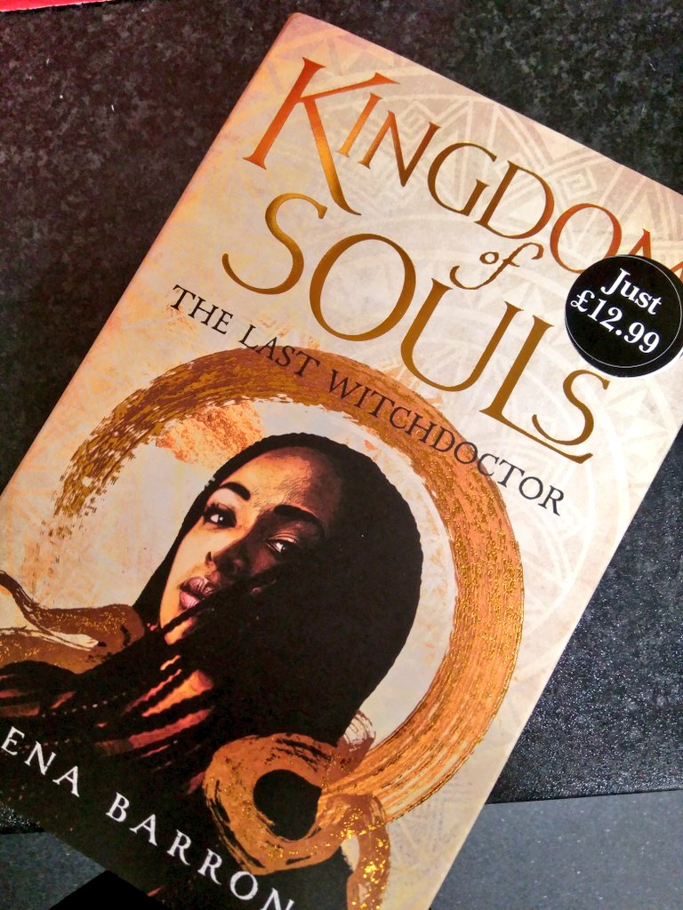 """🔔 NEW BOOK ALERT🔔 We have just received a copy of the amazing """"Kingdom of Souls"""" by Rena Barron. This is SO good you have no idea! One of my best reads this year and looking forward for more. And it's only £12.99 that should be illegal. Grab it while you can. #KingdomOfSouls"""