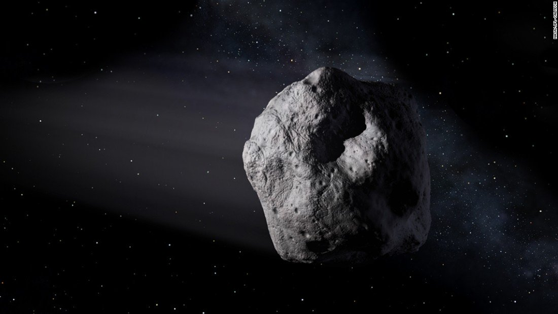 An asteroid larger than some of the world's tallest buildings will zip by Earth today cnn.it/30gOyDd
