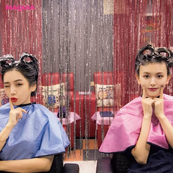台湾旅行✈️ハートとか色んな形を作って遊んでもらえる台湾シャンプーでひとりだけただ雑に髪の毛立たされて終わった竹中先生…