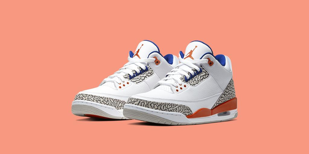 Commemorating his 40-point performance in a win over one of MJ's biggest rivals  The @Jumpman23 Air Jordan III 'White/Orange'  Shop 🇺🇸 https://go.nike.com/sEq2ZBfHmaJ