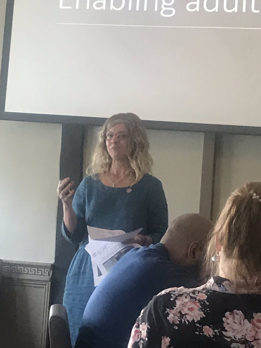 @CathyEarlyYears encouraging us all to reflect on 'swinging in the rain' ☔️ #BrewEdHerts19