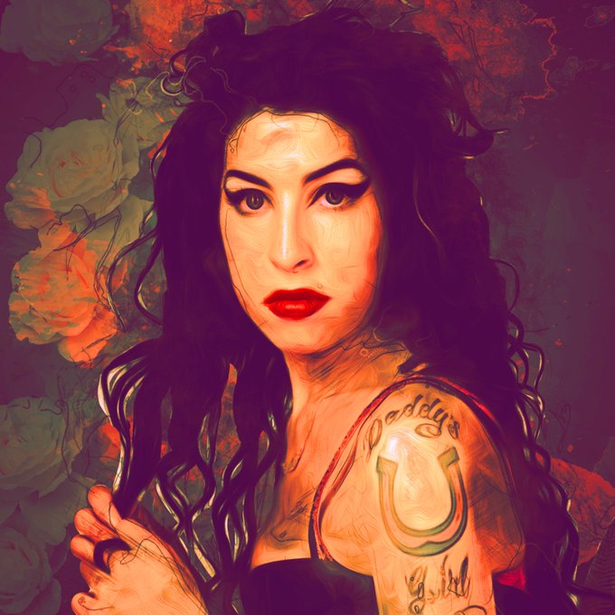 She left us far too early. Happy birthday to a timeless wonder, Amy Winehouse. She would ve been 36.