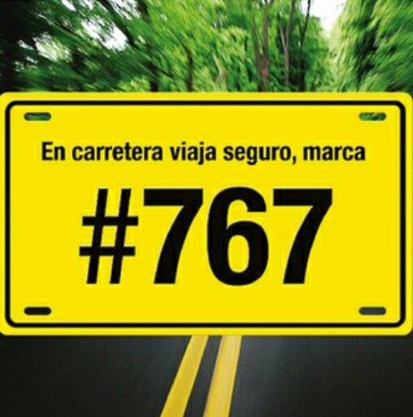 Cualquier inconveniente en la vía, no dude en marcar gratuitamente al # 767 ¡Estamos para garantizar su seguridad! # SeguridadVial @TransitoBta