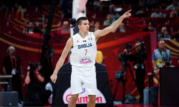 國際賽場大殺器!Bogdanovic再秀絕技獨中7三分追平記錄,狂砍31分世界盃完美收官!(影)