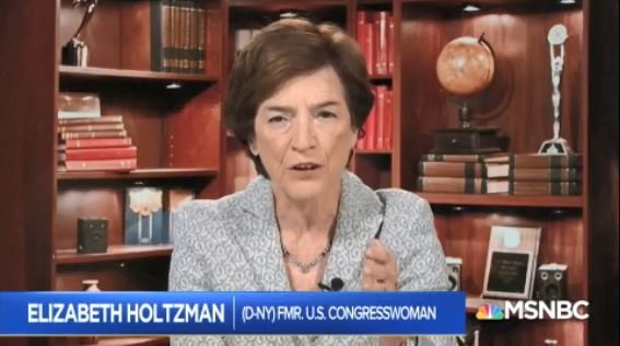 Fmr. Rep. Elizabeth Holtzman-Let the Judiciary Committee do its work. What I am concerned about is the Justice Department may be creating enough confusion so that judges may try to hold back... I think impeachment is something the framers wanted to protect the democracy... #AMJoy https://t.co/KKL7WCGzSN