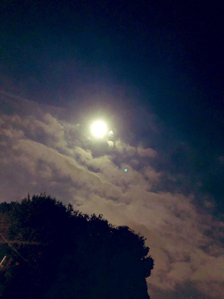 満月🎑おやすみなさい🌝