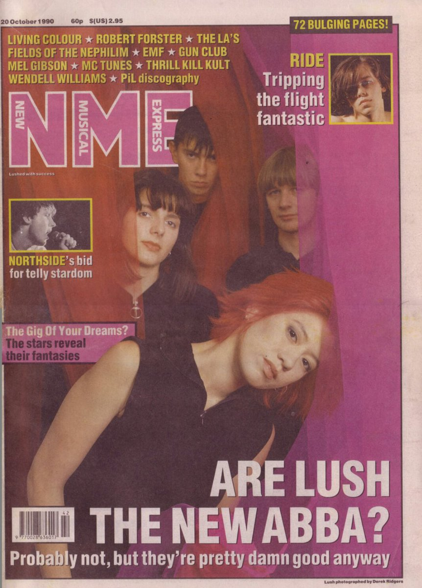 Are Lush the new ABBA? NME, October 1990.