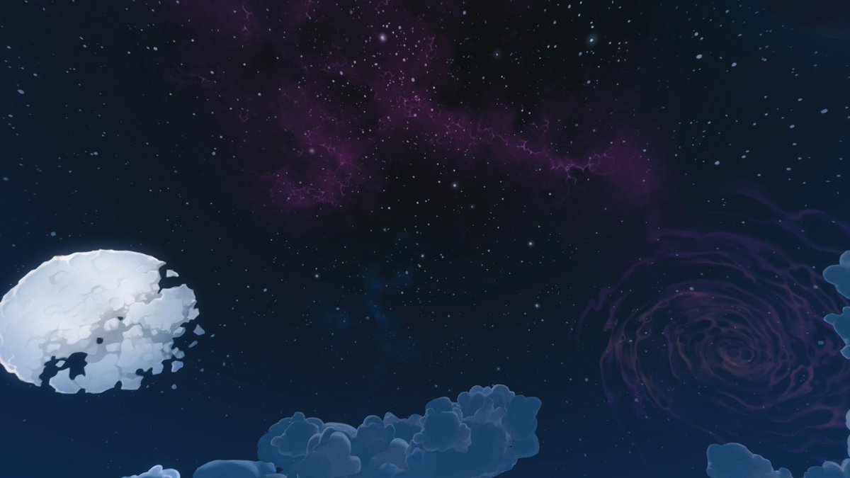Can we appreciate the night sky of Serpent Beach?   #PaladinsPhotography