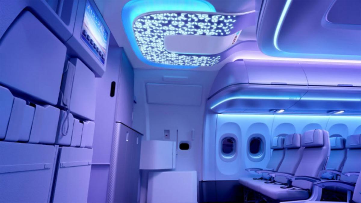 Airbus quiere saber con qué frecuencia vas al baño en sus aviones.