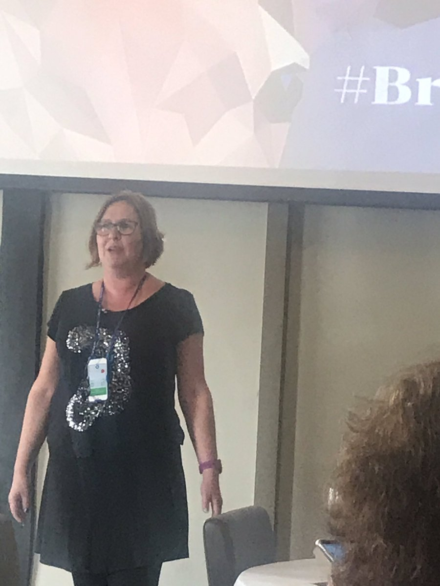 The magic weaver that is @thosethatcan at #BrewEdHerts19 Love her wit, generosity and wisdom