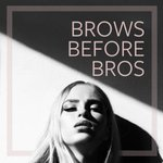 Image for the Tweet beginning: Always remember: Brows Before Bros  #sevabeauty