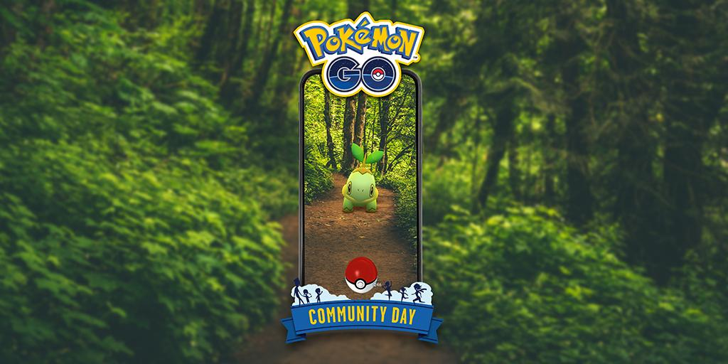 🍃 It's almost time to branch out and enjoy #PokemonGOCommunityDay, Trainers! Remember to tree-t yourself to some Stardust by taking advantage of our 3× Catch Stardust bonus. We'll be rooting for you! 🍃 pokemongolive.com/events/communi…