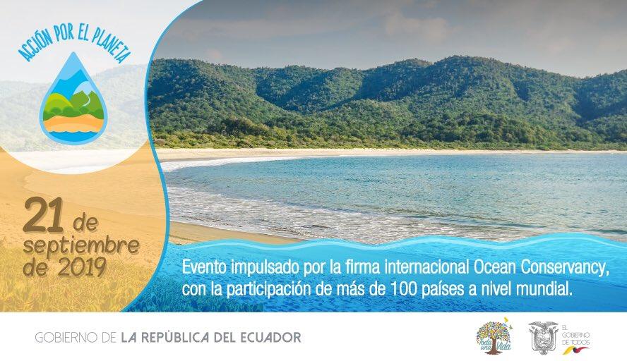 RT @Educacion_Ec: Faltan pocos días para que Ecuador demuestre su compromiso con el ambiente. #AcciónPorElPlaneta https://t.co/pWZ2v2Irev