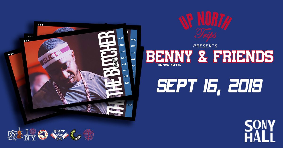 Monday | @BennyBsf & friends. Hosted by @MAL___ Music by @djsoulnyc Doors at 7pm | @SonyHall Tell an enemy.