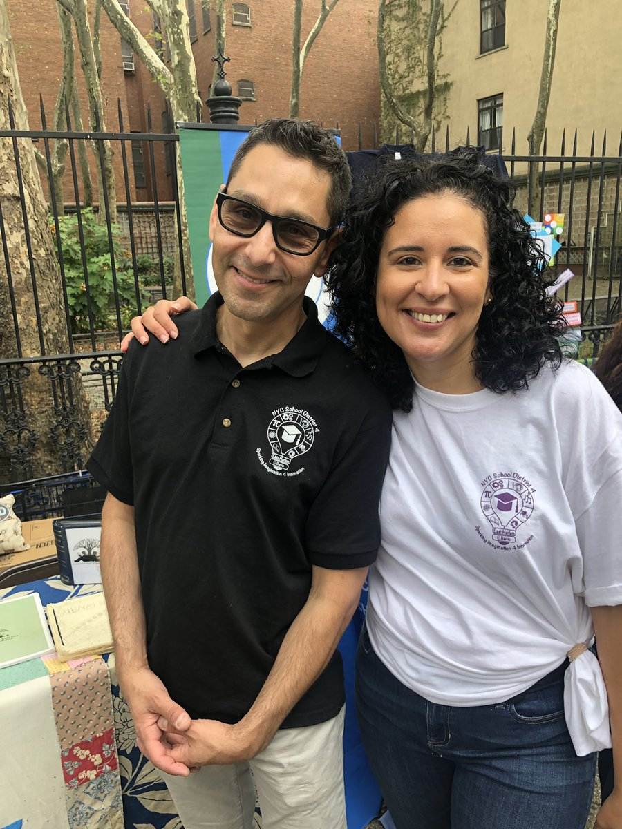 The Annual District 4 Back to School Festival is a true celebration of East Harlem while providing resources and support to our families! Meet some of our community members. @aestrel3 #ChampionsforChildren #SparkingImagination4Innovation https://t.co/PL4O8UwSRn