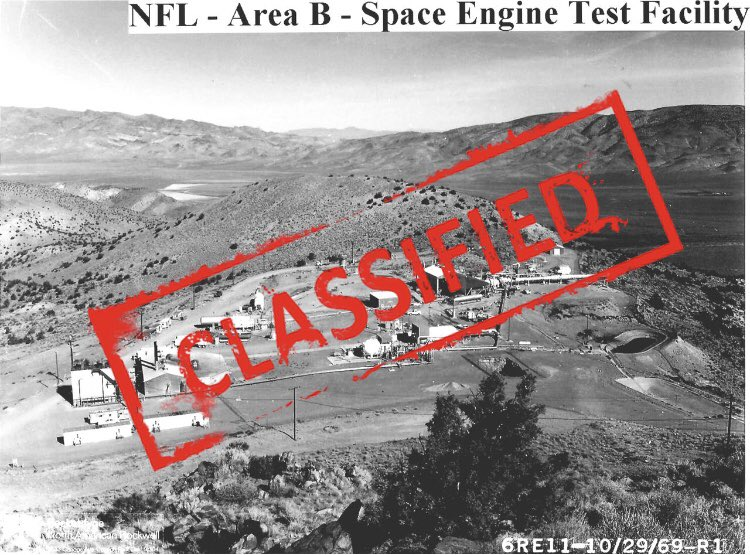 """Growing up, I heard there was a secret """"NASA"""" rocket testing facility in northern Nevada (home for me), but I never knew what it was. Today, I finally found out... <br>http://pic.twitter.com/1Q6duqU4WE"""