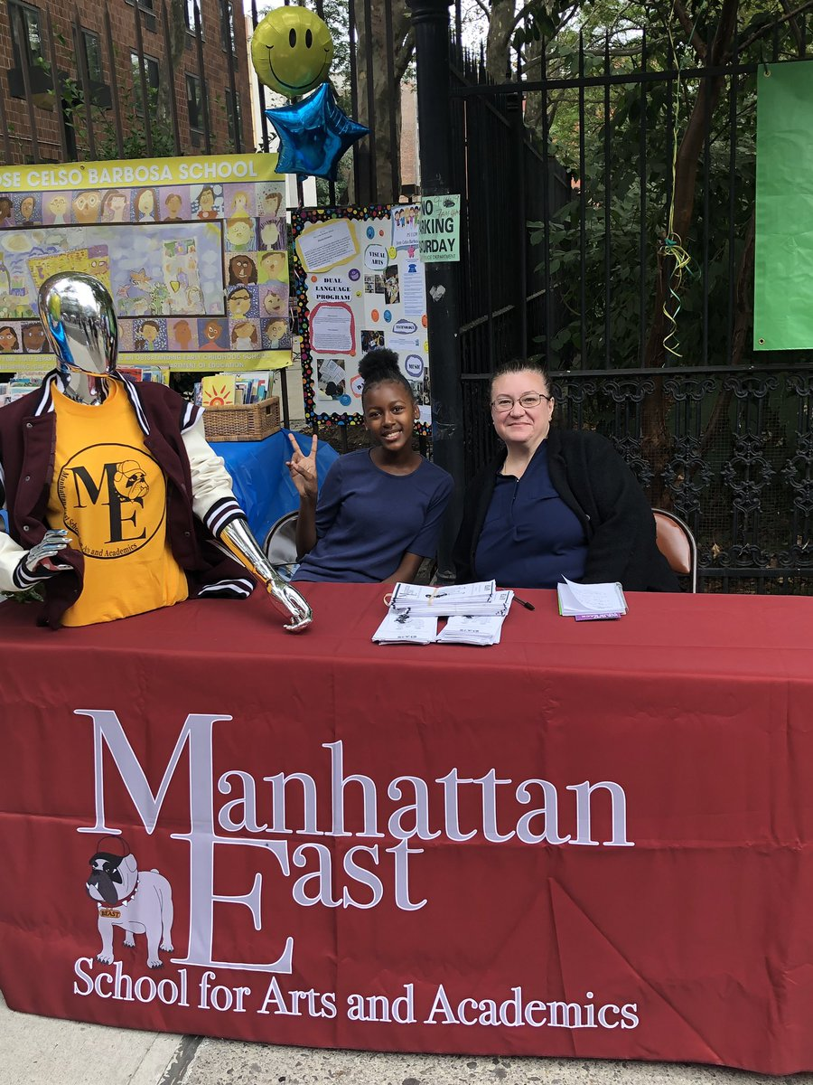The Annual District 4 Back to School Festival is a true celebration of East Harlem while providing resources and support to our families! Meet some of our community members. @aestrel3 @cec4eastharlem @UFT #ChampionsforChildren #SparkingImagination4Innovation https://t.co/cU0ZShJKUA
