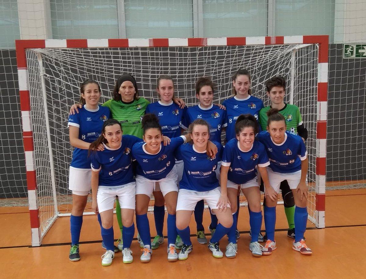 Desde La Banda - Fútbol Navarro | U.D.C. Chantrea campeón de la Copa Navarra de Fútbol Sala Femenina.