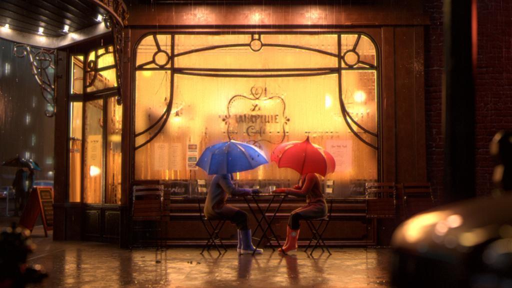 Together rain or shine.