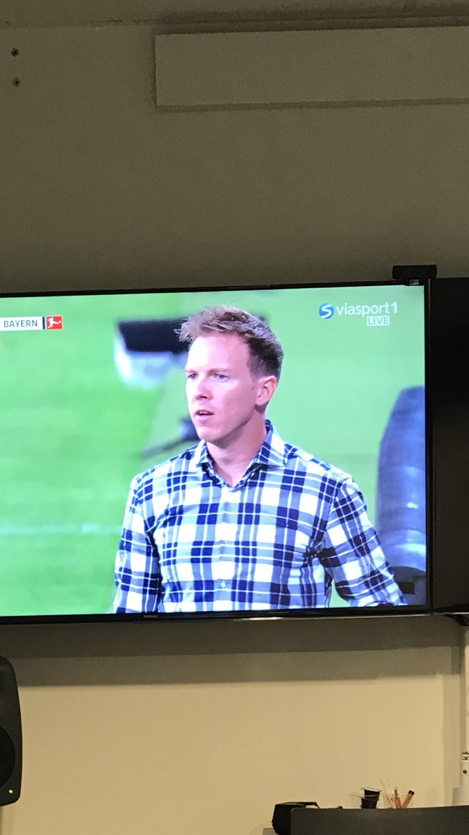 Great coach Nagelsmann !!! But we have to have a chat about that shirt....